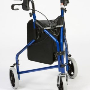 Drive Lightweight Steel Tri-Walker - Blue