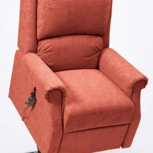 Lifted Chicago Riser Recliner - Terracotta