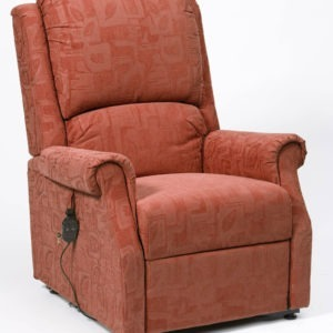 Chicago Riser Recliner - Terracotta