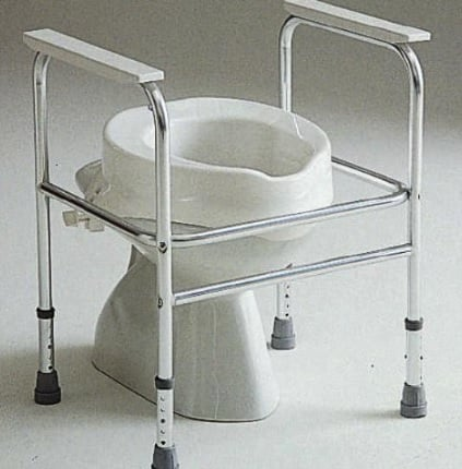 Invacare Adeo Toilet Frame