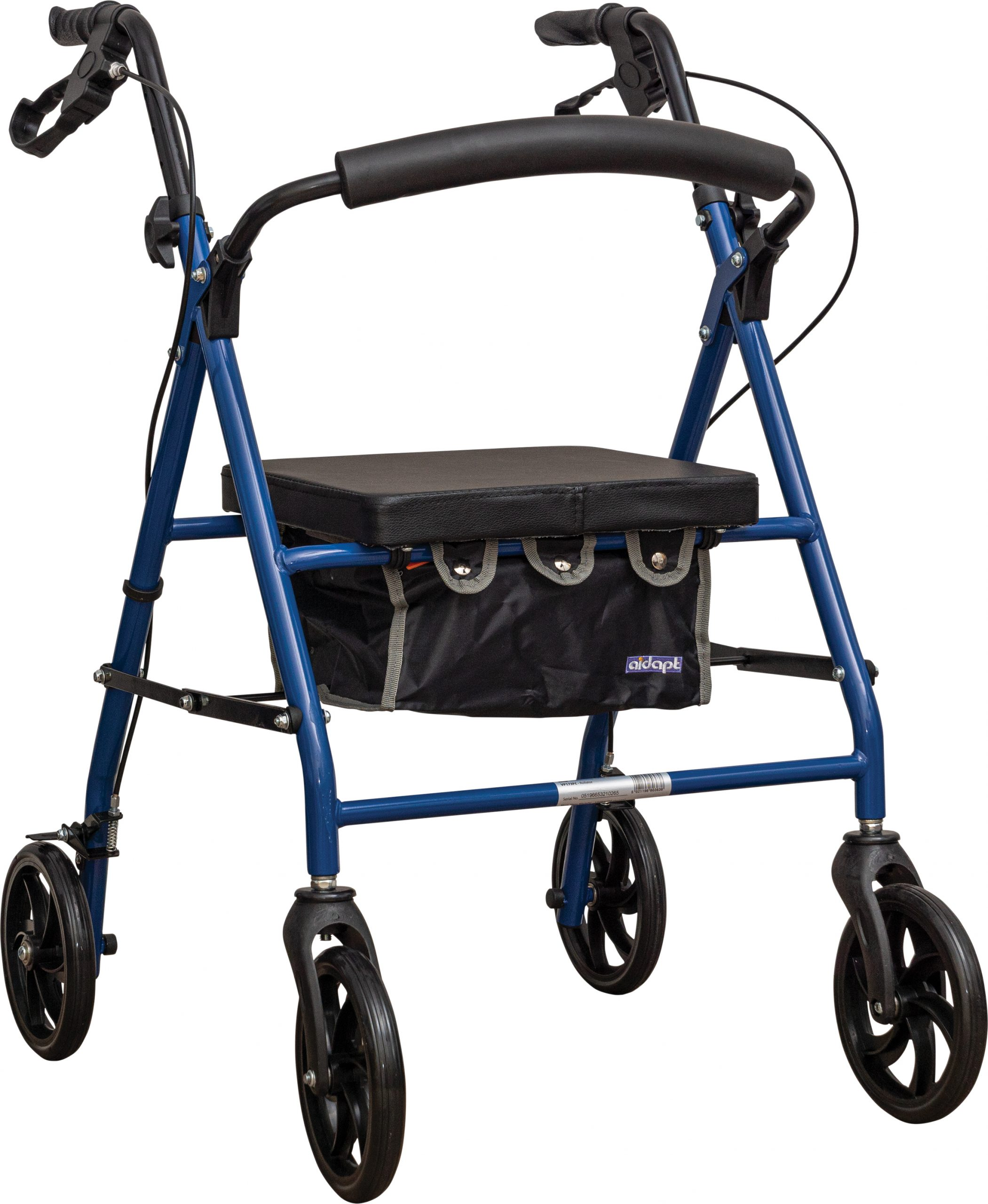 Aidapt Steel Rollator in Blue