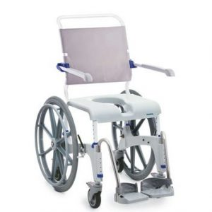 Invacare Ocean Ergo Shower Commode Chair Self-Propelled