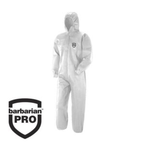 Barbarian Type 5/6 White Coverall