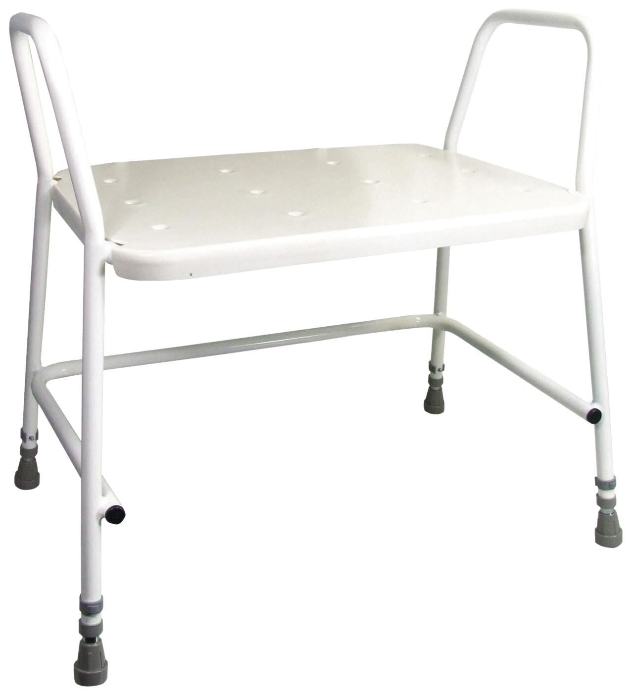 Bariatric Height Adjustable Shower Stool