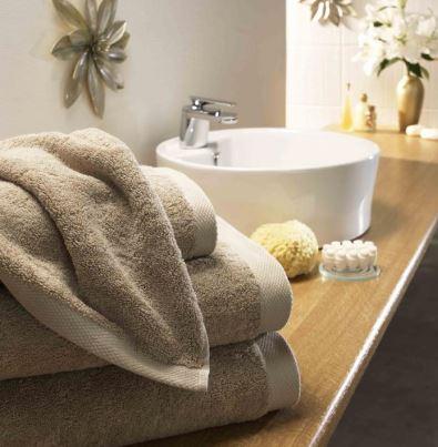 Hand towel in Caramel