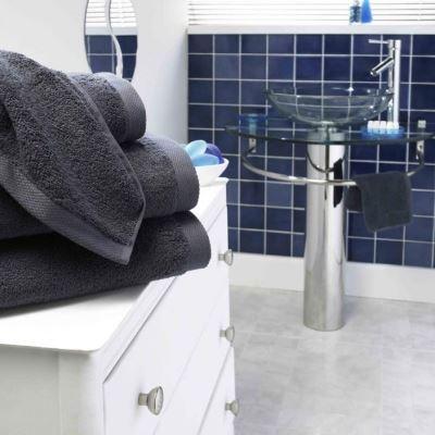 Slate bath towel