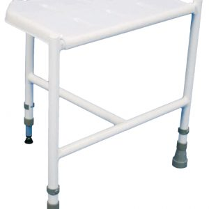 Height Adjustable Corner Shower Stool