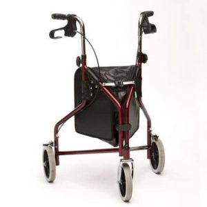 Drive Lightweight Steel Tri-Walker - Red