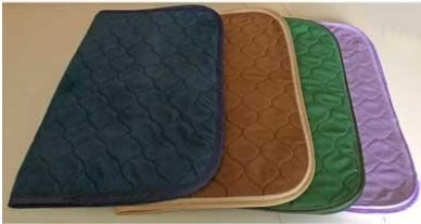 Incontinence Chair Pad - Brown