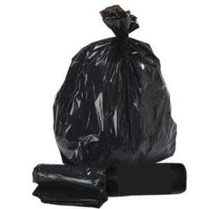 Standard Duty Black Bin Liners