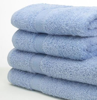Face cloth in Blue