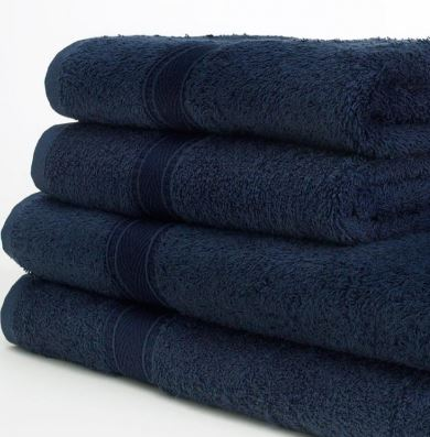 Face cloth in Navy