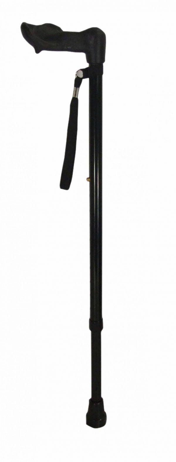 Ergonomic Handled Walking Stick - Left Handed