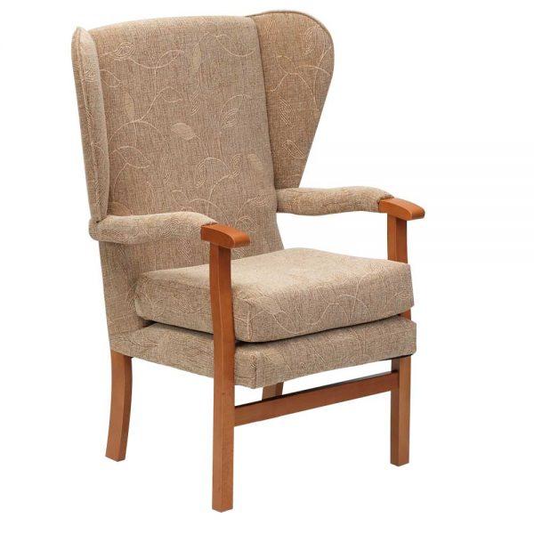 Jubilee Fireside Chair - Biscuit