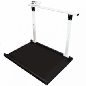 Marsden M-653 Wheelchair Scale With Handrail