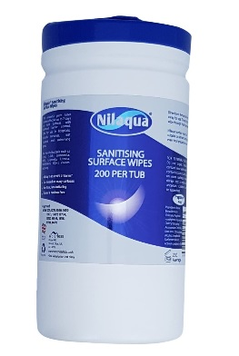 Nilaqua Surface Wipes