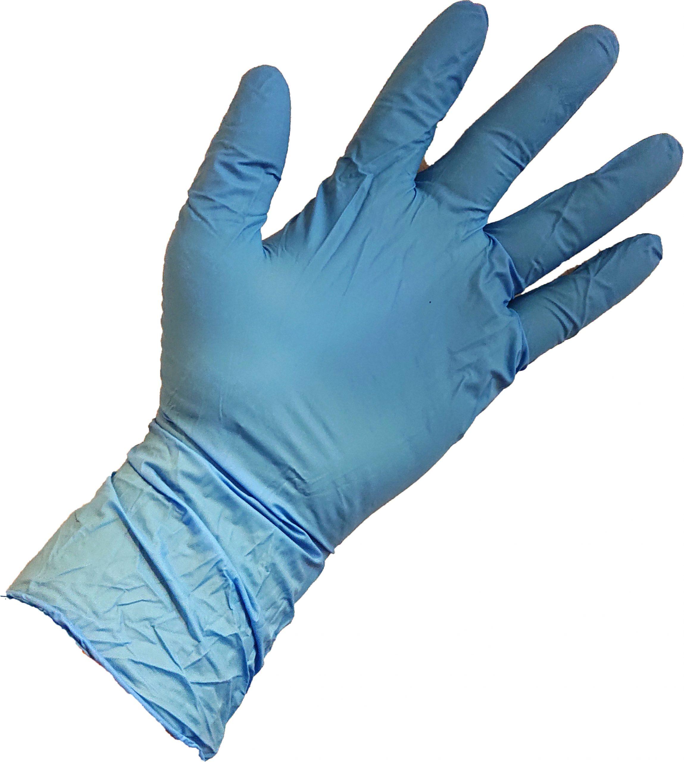 Nitrile Gloves - Single Box (100 Gloves) - Extra Length