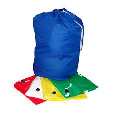 Linen Drawstring Bag - Yellow