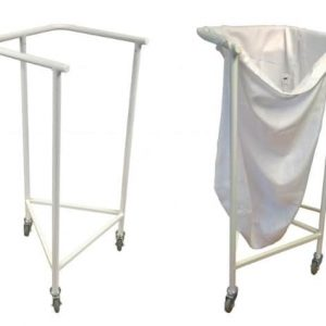 Single Square Top Linen Trolley