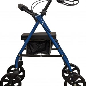 Aidapt Steel Rollator in Blue
