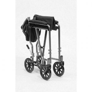 Steel Transit Wheelchair