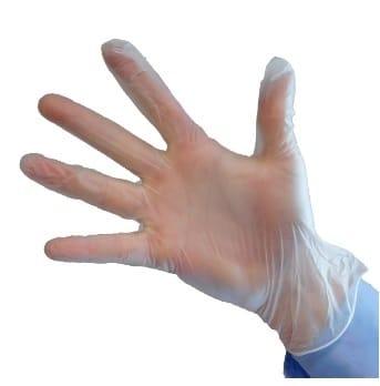Powder Free Vinyl Gloves – 10 Boxes (1000 Gloves)