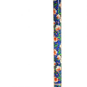 Deluxe Folding Walking Cane - Red -Sakura