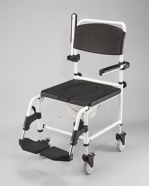 Cefndy Attendant Shower Commode Chair