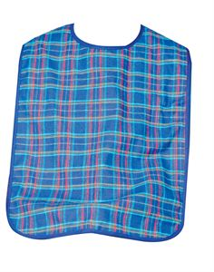Dura Bib Blue Check