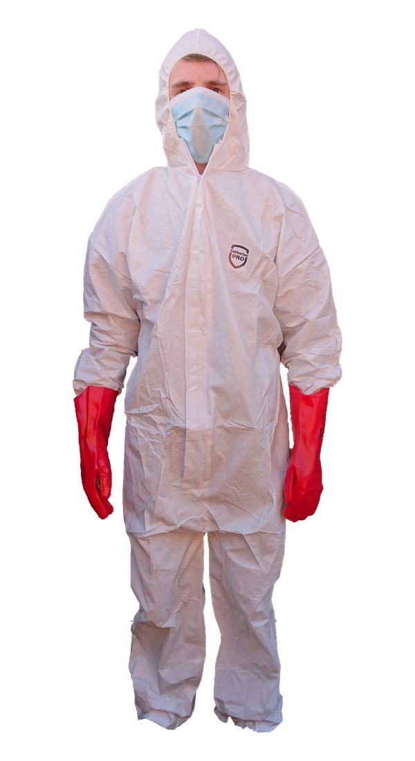 Coverall - 523 Barbarian PRO white XXL - Single