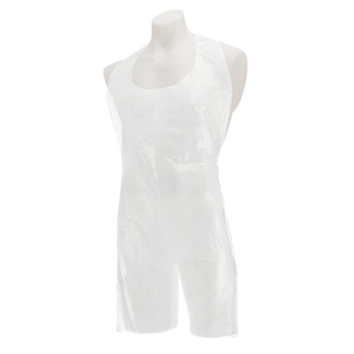 White Flat Pack aprons