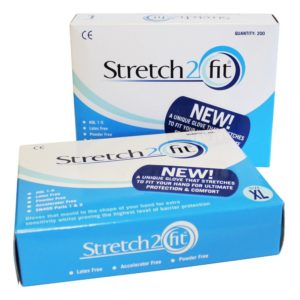 Stretch2fit clear Gloves