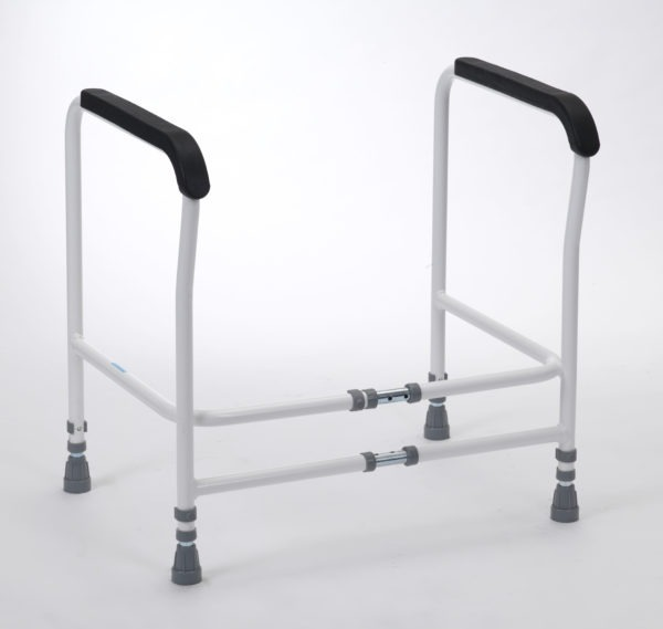 Clipston Toilet Frame Adjustable Width Without Floor Fixings