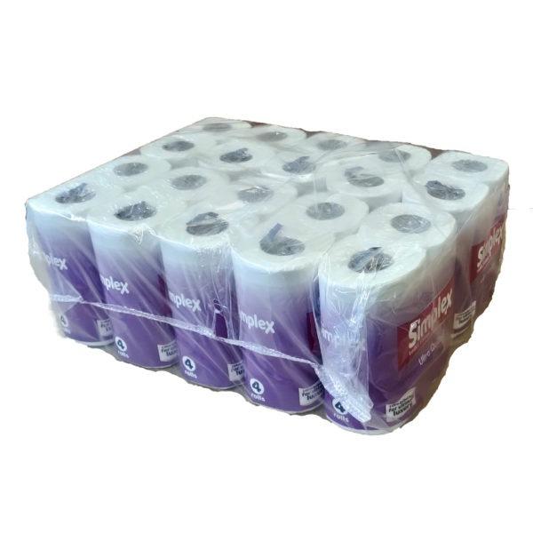 Simplex 3ply Bathroom Tissue 40 Rolls