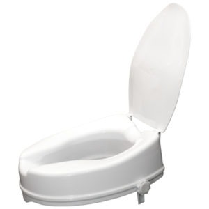 Riased Toilet Seat With Lid