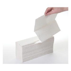White Luxury C Fold Hand Towels