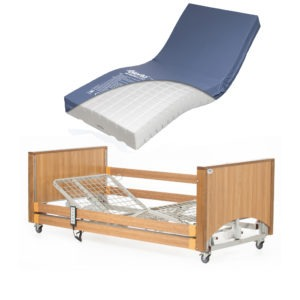 Lomond Low Bed with High Risk Mattress