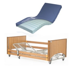 Lomond Low bed with medium risk air mattress