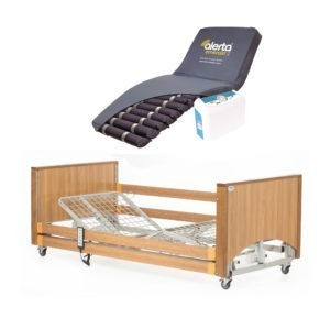 Lomond Low Bed with High Risk Air Mattress