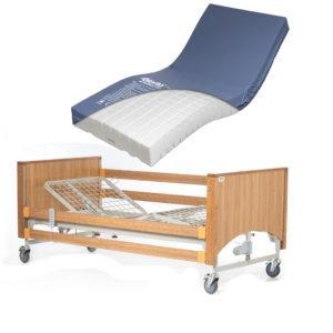 Lomond Standard Bed With High Risk Mattress