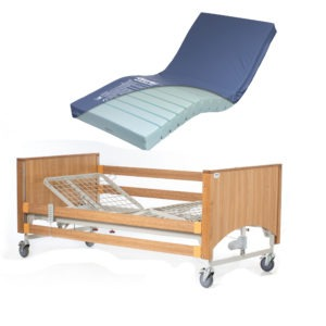 Alerta Lomond bed with Medium Mattress