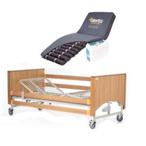 Lomond Standard Bed with High Risk Air Mattress