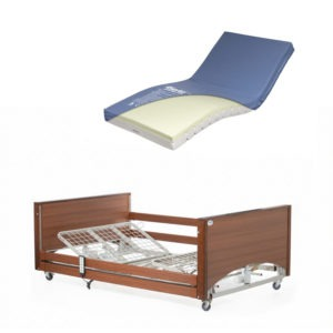 Bariatric Bed with High Risk Mattress
