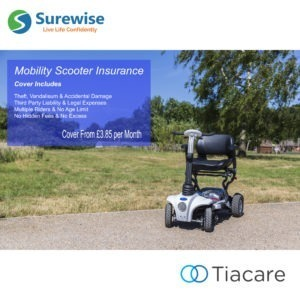 Tiacare & Surewise Mobility Scooter Insurance
