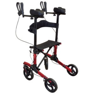 Forearm Rollator in Red