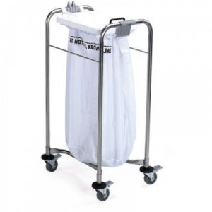 1 Bag Laundry Trolley