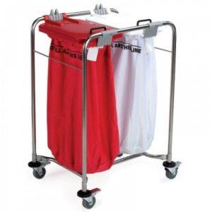 2 Bag Laundry Trolley